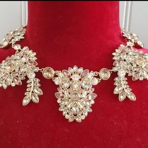 Authentic Givenchy Crystal Bib Necklace